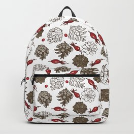 cones and berries Backpack