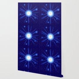 blue light effect Wallpaper