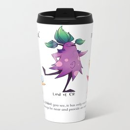 Dancing Yabbuts Metal Travel Mug