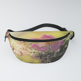 Lovely flowerbouquet in a special light - Rose Roses Fanny Pack