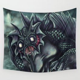 The Shadow Over Innsmouth Wall Tapestry