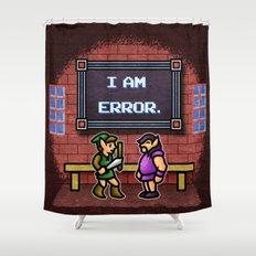 I am Error Shower Curtain