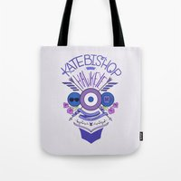 kate bishop Tote Bags featuring Katie Kate by emptystarships