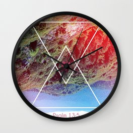 Psalms 13:5 Wall Clock