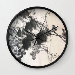 SH 25 - Roosting Wall Clock