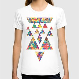 Triangles N Colors T-shirt