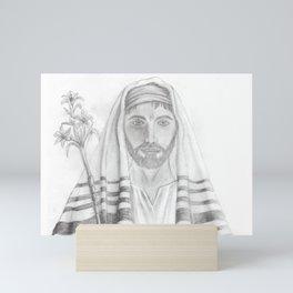 St. Joseph Drawing Mini Art Print