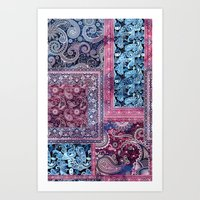 ethnic Art Prints featuring Ethnic by RIZA PEKER