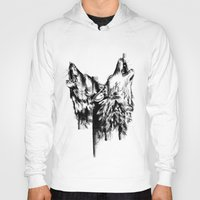 howl Hoodies featuring Howl  by Ink Odyssey
