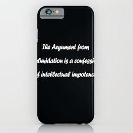 Ayn Rand iPhone Case