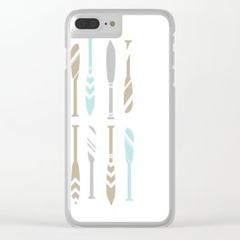 River OAR Ocean Clear iPhone Case