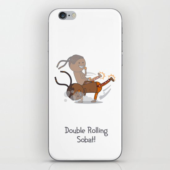 Double Rolling Sobat! iPhone & iPod Skin