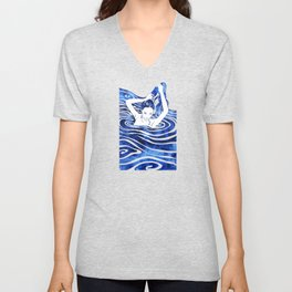 Water Nymph IV Unisex V-Neck