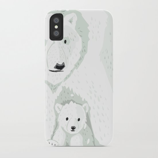 The White Bears and the Tin Soldier iPhone Case
