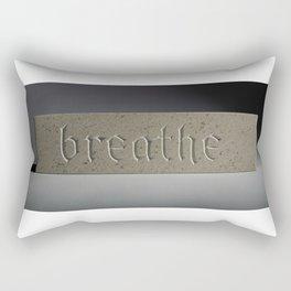 Breathe... Rectangular Pillow