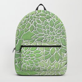 Floral Abstract 30 Backpack