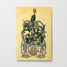 Pakal Ship Metal Print