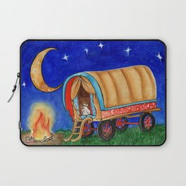 Gypsy Chicken in a covered Wagon Laptop Sleeve