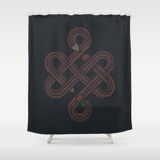 Endless Creativity Shower Curtain