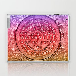 Rainbow Water Meter New Orleans Sewer Ford Laptop & iPad Skin