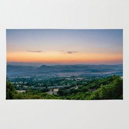 Sunrise in Macedonia Rug
