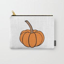 Halloween orange pumpkin Carry-All Pouch