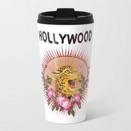 Hollywood Leopard Travel Mug