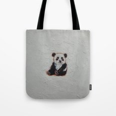 Tiny Panda Tote Bag
