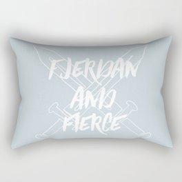 Fjerdan And Fierce Rectangular Pillow