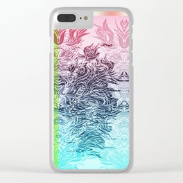 Soft Lines(PBG) Clear iPhone Case