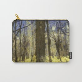 Peaceful Forest Van Gogh Carry-All Pouch