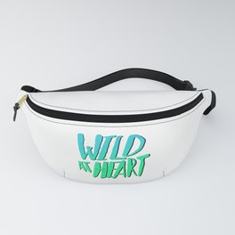 Wild at Heart x Blue + Green Fanny Pack