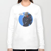 garrus Long Sleeve T-shirts featuring Garrus by Pulvis