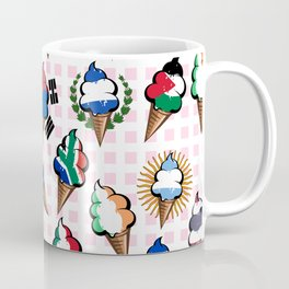 Ice cream flags Coffee Mug