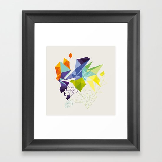 Irregular Framed Art Print