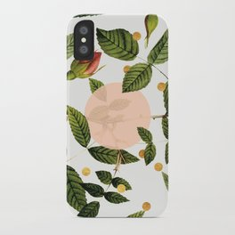 Leaves + Dots iPhone Case