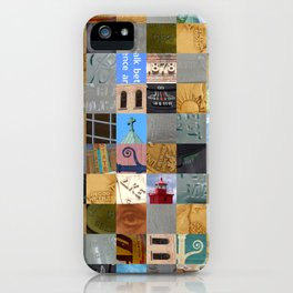 Pieces of Pictures Collage iPhone Case