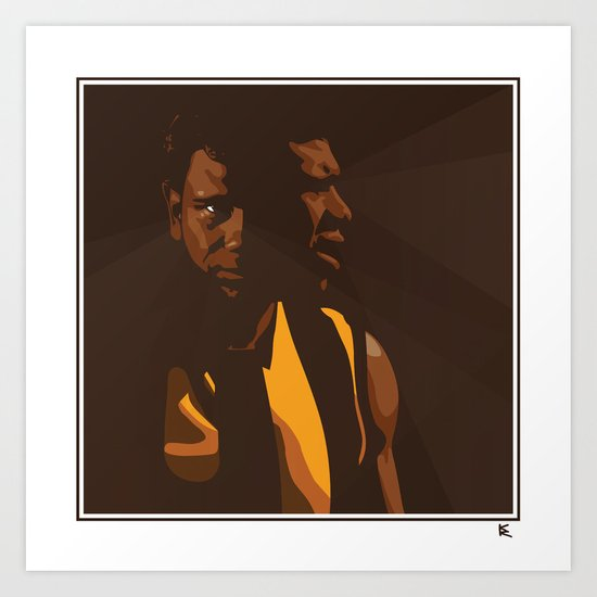 Cyril Art Print