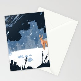 Forested Tech Stationery Cards