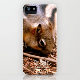 Lord Provides Squirrel iPhone Case