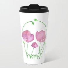 Tulip Skull Travel Mug