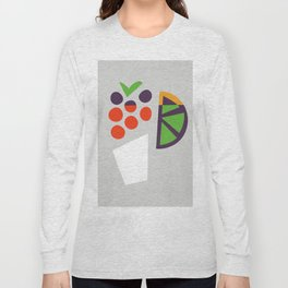 Berry Cocktail Long Sleeve T-shirt