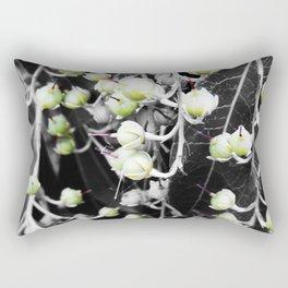 Buds of Green Rectangular Pillow