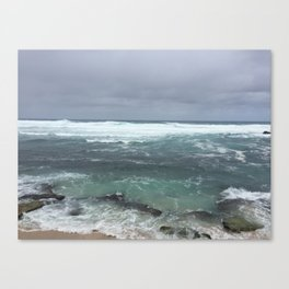 Moody Maui Canvas Print