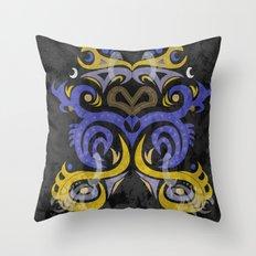 Organic 2 Throw Pillow