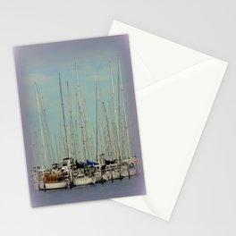 Flotilla of Yachts  Stationery Cards