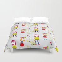 kids Duvet Covers featuring kids by heyme