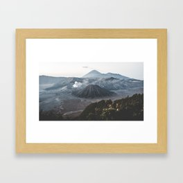 Bromo, Indonesia Framed Art Print