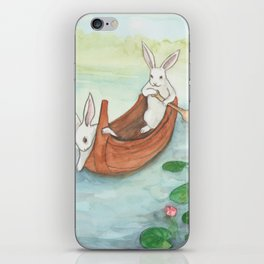 Lazy Day in the Canoe iPhone Skin
