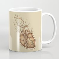 carpe Mugs featuring Tree of Life by Enkel Dika